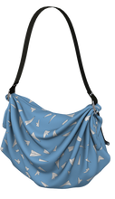 Load image into Gallery viewer, The Paper Planes Origami Bag in Blue