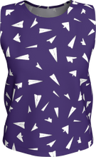 Load image into Gallery viewer, The Paper Planes Tank Top in Purple