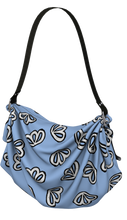 Load image into Gallery viewer, The Paula Origami Bag in Periwinkle