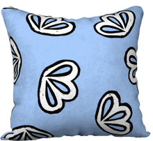 Load image into Gallery viewer, The Paula Reversible Pillow in Periwinkle