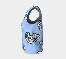 Load image into Gallery viewer, The Paula Tank Top in Periwinkle-Clash Patterns