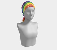 Load image into Gallery viewer, The Rainbow Long Scarf-Clash Patterns