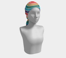 Load image into Gallery viewer, The Rainbow Long Scarf in Jewel Tones