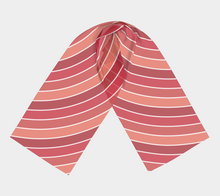 Load image into Gallery viewer, The Rainbow Long Scarf in Red