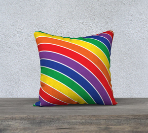 The Rainbow Pillow-Clash Patterns