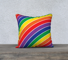 Load image into Gallery viewer, The Rainbow Pillow-Clash Patterns