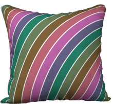 Load image into Gallery viewer, The Rainbow Pillow in Pinks and Greens