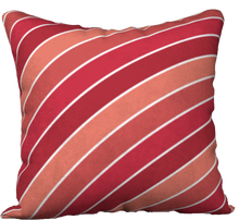Load image into Gallery viewer, The Rainbow Pillow in Reds