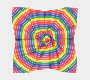 The Rainbow Square Scarf