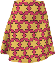 Load image into Gallery viewer, The Rita Flared Skirt in Pink and Yellow