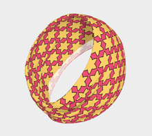 Load image into Gallery viewer, The Rita Headband in Pink and Yellow