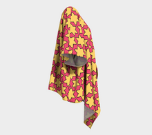 Load image into Gallery viewer, The Rita Kimono in Pink and Yellow-Clash Patterns