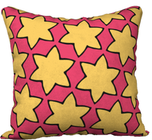 Load image into Gallery viewer, The Rita Reversible Pillow in Pink and Yellow