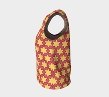 Load image into Gallery viewer, The Rita Tank Top in Pink and Yellow-Clash Patterns