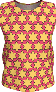 The Rita Tank Top in Pink and Yellow