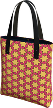 Load image into Gallery viewer, The Rita Tote Bag in Pink and Yellow