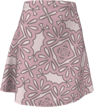 Load image into Gallery viewer, The Rose Flare Skirt in Rose-Flare Skirt-Clash Patterns by Jennifer Akkermans