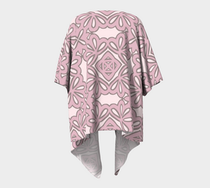 The Rose Kimono in Rose-Clash Patterns