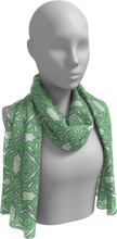 Load image into Gallery viewer, The Rose Long Scarf in Pistachio