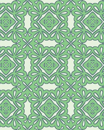 The Rose Print-at-Home Art Print in Pistachio - Digital Download-Clash Patterns