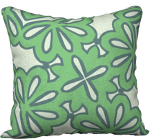 Load image into Gallery viewer, The Rose Reversible Pillow in Pistachio