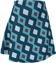 Load image into Gallery viewer, The Samantha Flare Skirt in Blue