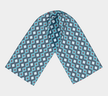 Load image into Gallery viewer, The Samantha Long Scarf in Blue