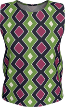 Load image into Gallery viewer, The Samantha Tank Top in Green and Wine