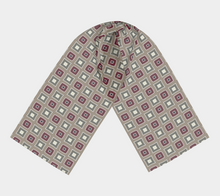 Load image into Gallery viewer, The Sandra Long Scarf in Neutral Maroon