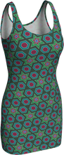 Load image into Gallery viewer, The Sarah Fitted Dress in Green