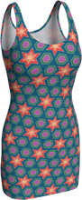 Load image into Gallery viewer, The Sarah Fitted Dress in Multicolour