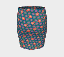 Load image into Gallery viewer, The Sarah Fitted Skirt in Multicolour-Clash Patterns