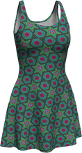 Load image into Gallery viewer, The Sarah Flare Dress in Green
