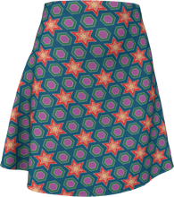 Load image into Gallery viewer, The Sarah Flare Skirt in Multicolour