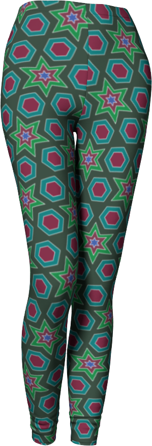 The Sarah Leggings in Green