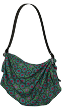 Load image into Gallery viewer, The Sarah Origami Bag in Green-Origami Tote-Clash Patterns by Jennifer Akkermans