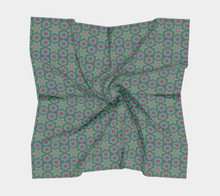 Load image into Gallery viewer, The Sarah Square Scarf in Green