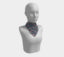 Load image into Gallery viewer, The Sarah Square Scarf in Multicolour