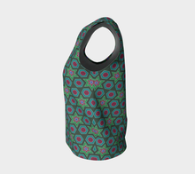 Load image into Gallery viewer, The Sarah Tank Top in Green-Clash Patterns