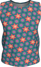 Load image into Gallery viewer, The Sarah Tank Top in Multicolour-Loose Tank Top (Regular)-Clash Patterns by Jennifer Akkermans