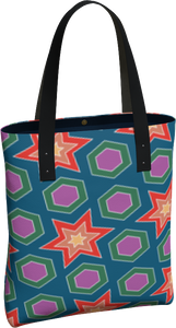 The Sarah Tote  Bag in Multicolour
