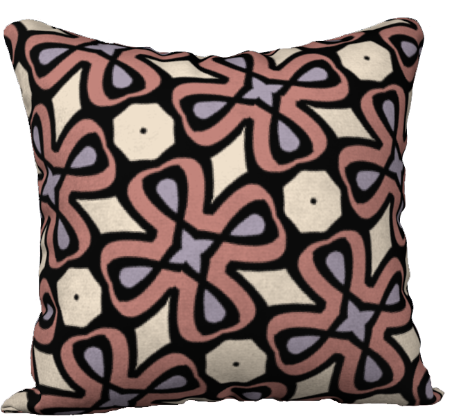 The Second Jane Reversible Pillow in Tuscany