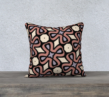 Load image into Gallery viewer, The Second Jane Reversible Pillow in Tuscany-Clash Patterns