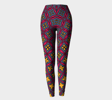 Load image into Gallery viewer, The Stacy Leggings-Clash Patterns