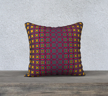 Load image into Gallery viewer, The Stacy Reversible Pillow-Clash Patterns