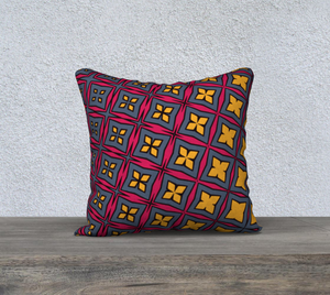 The Stacy Reversible Pillow-Clash Patterns
