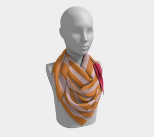 The Sunrise Square Scarf