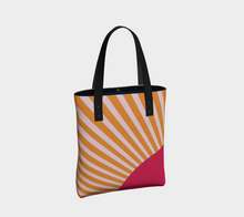 Load image into Gallery viewer, The Sunrise Tote Bag-Clash Patterns