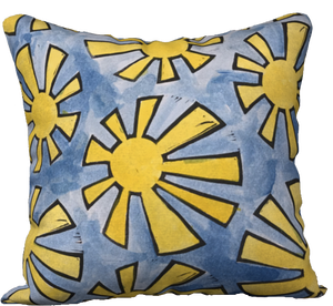 The Sunshine Watercolour Pillow