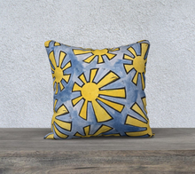 Load image into Gallery viewer, The Sunshine Watercolour Pillow-Clash Patterns